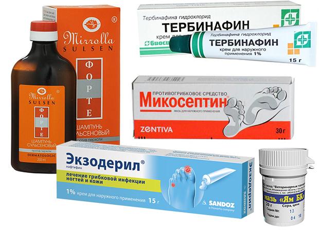 Противогрибковые лекарственные препараты