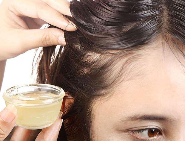Применение масел для волос