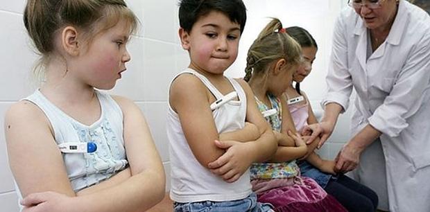 Медосмотр в детском садике