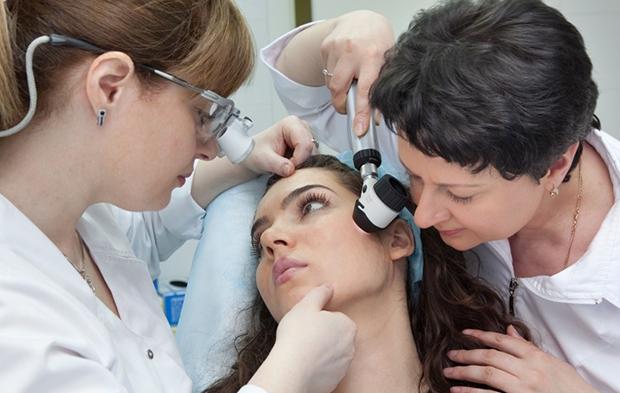 Диагностика лицевой себореи