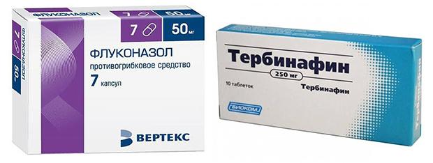 Лечебные препараты от микоза век