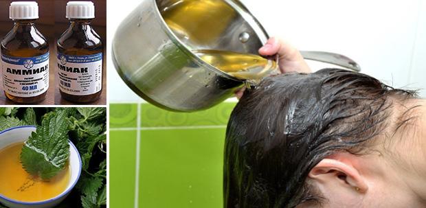 Ополаскивание волос отварами