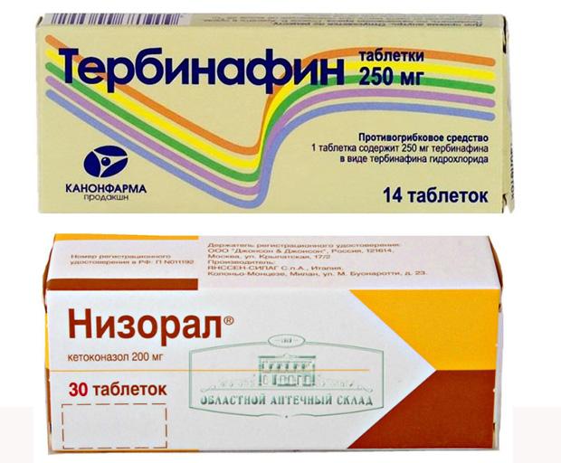 Системные препараты от микоза