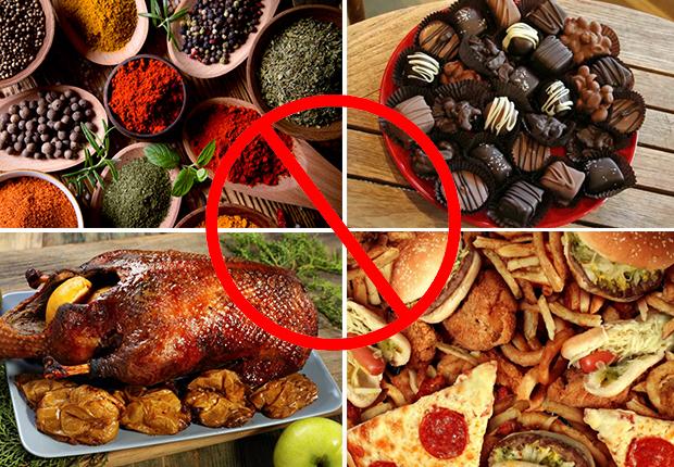Запрещенные продукты при себорее
