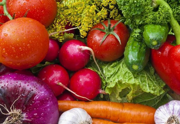 Свежие овощи,, зелень