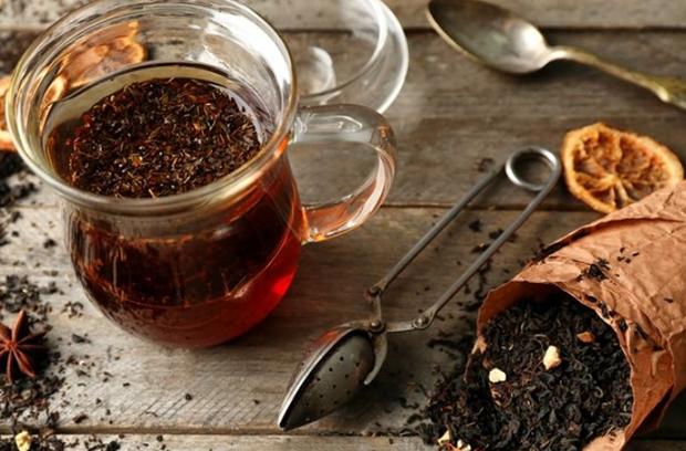 Крепкий настой чая