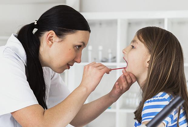 Причины заболевания горла