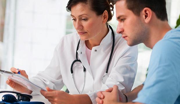 Медицинский осмотр у уролога
